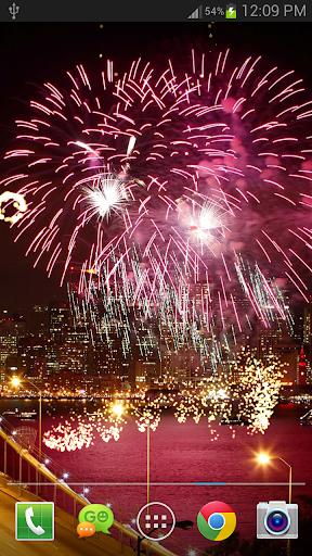 New Year Fireworks LWP (PRO) 1.3.1 screenshots 4