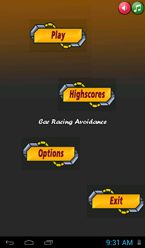 Car Racing And Avoidance