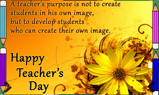 Teachers day greetings apps on google play screenshot image spiritdancerdesigns Choice Image