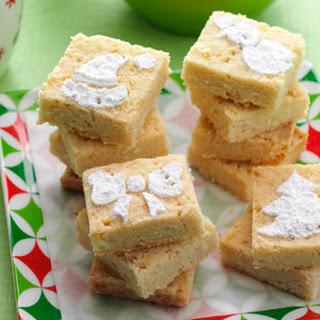 Holiday Shortbread Cookies.