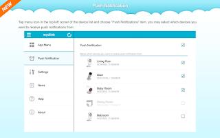 Screenshot of mydlink+