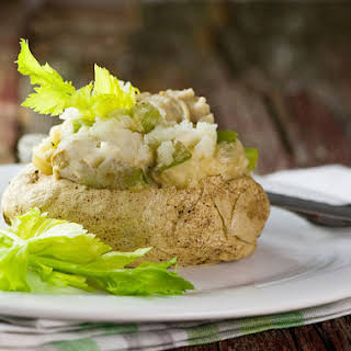 Clam Chowder Baked Potatoes.