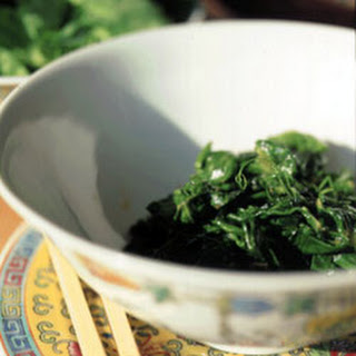 Pea Shoots with Fermented Bean Curd