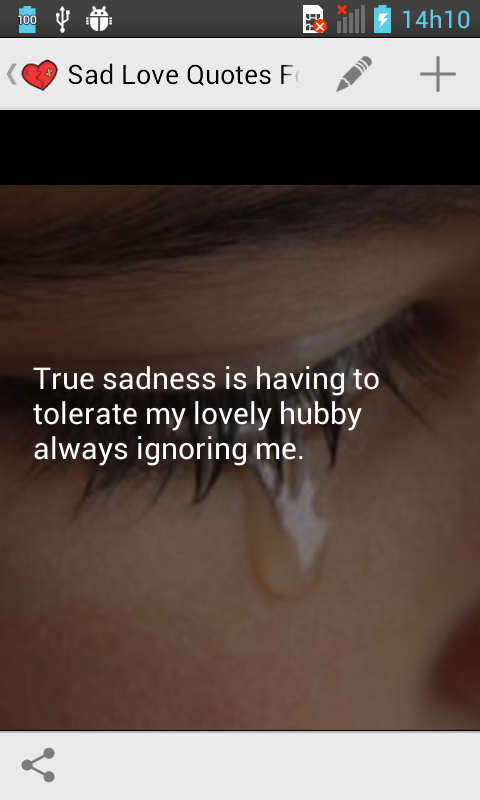 One Sided Love Sad Quotes : sad love quotes for one sided love is the app