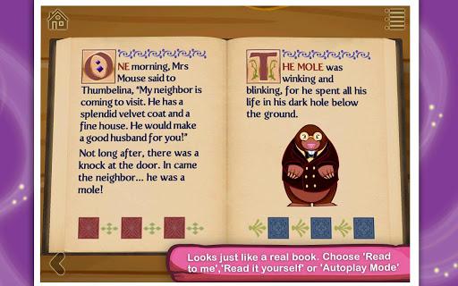 【免費書籍App】Thumbelina-APP點子
