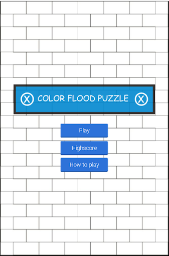 Color Flood Puzzle