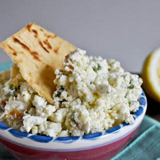 Creamy Feta Dip with Jalapenos
