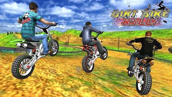 Dirt Bike Rally 3D Racing