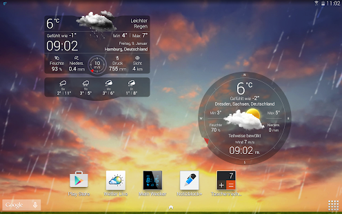 Wetter Liveº Screenshot