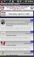 Screenshot of 1862 July Am Civil War Gazette