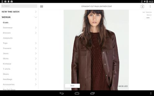 Zara - screenshot thumbnail