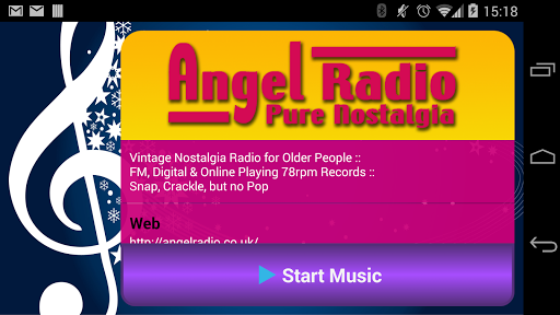 Angel Radio - Pure Nostalgia