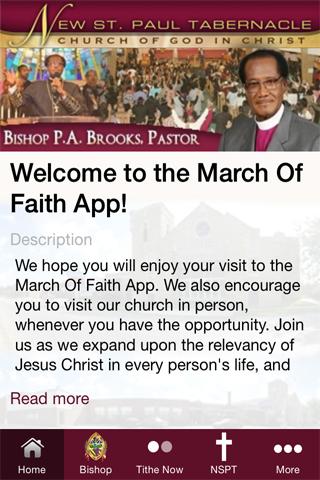 March Of Faith