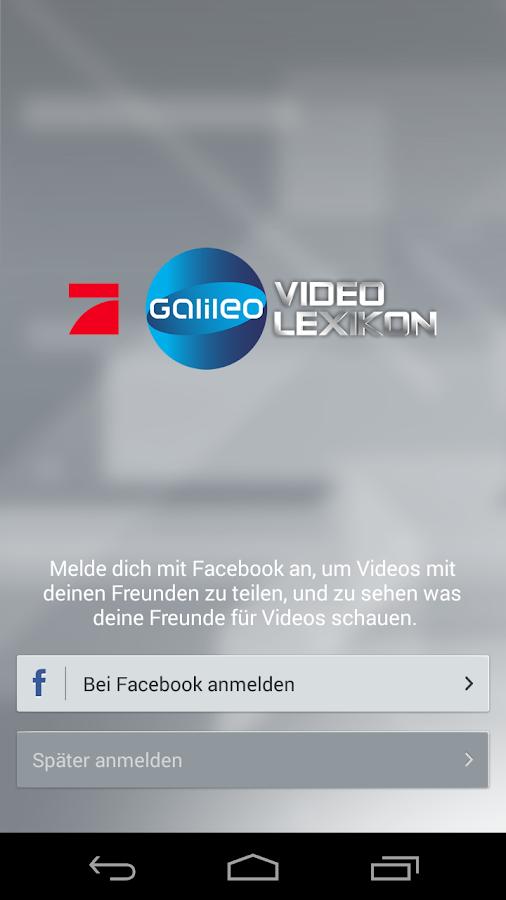 Galileo Videolexikon - screenshot