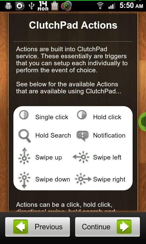 ClutchPad - screenshot