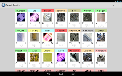 Periodic table pro android apps on google play periodic table pro screenshot thumbnail urtaz Gallery