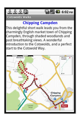 Cotswolds Walks - screenshot