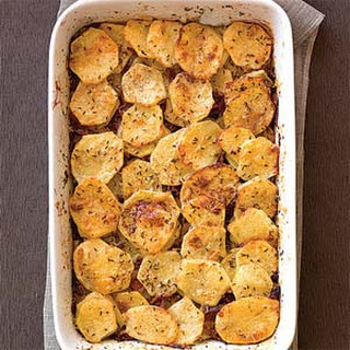 Caraway-Bacon Potatoes