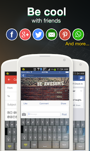Cool Fonts for Whatsapp & SMS 2.6 screenshots 5