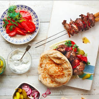 Lamb, Orange And Chile Kebabs.
