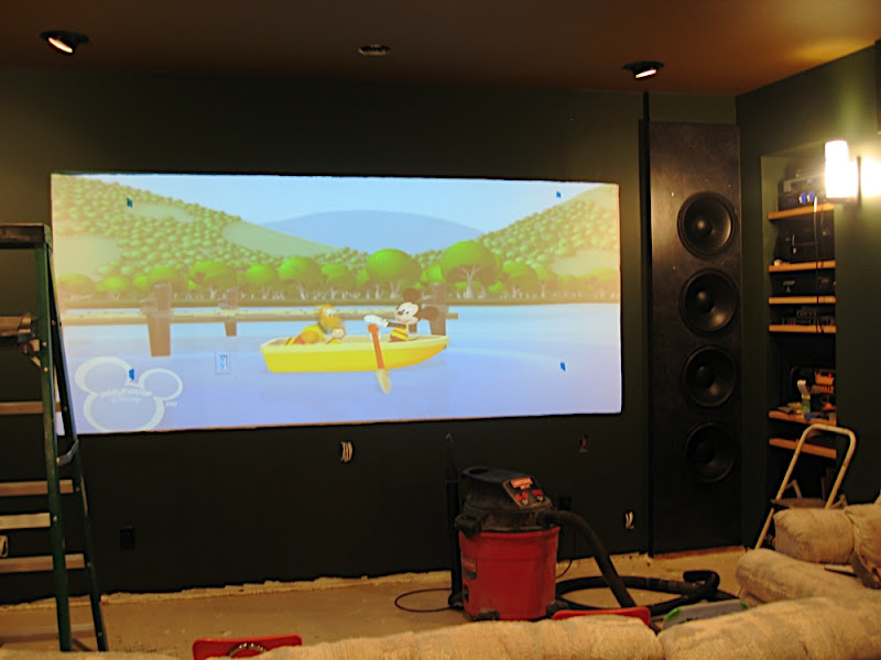 Mike R Home Theatre IB subwoofer project, IB subwoofer's (15
