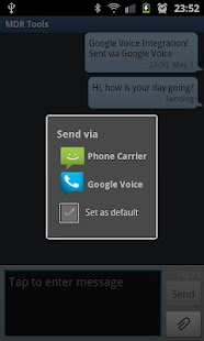 Google Voice SMS Integration - screenshot thumbnail