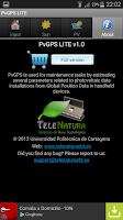 Screenshot of PvGPS LITE