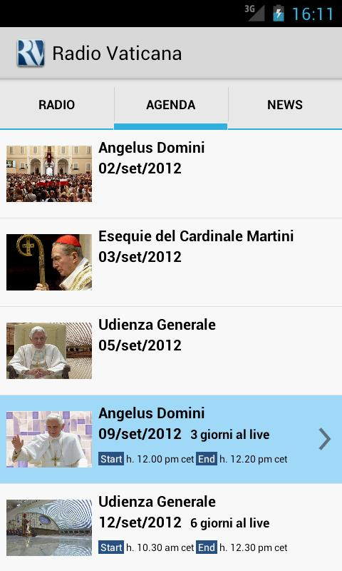 Radio Vaticana- screenshot
