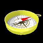 3D Stereoscopic Compass icon
