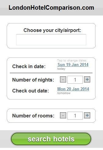 Discount London Hotels