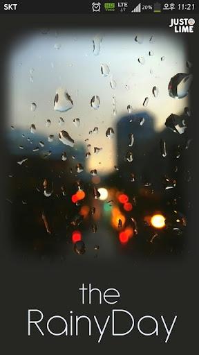 카카오톡 테마 - The RainyDay