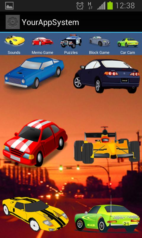 super fun car games for kids screenshot
