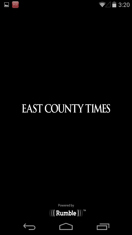 East County Times - screenshot