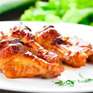 Honey Baked BBQ Wings w/ Jack Daniel's