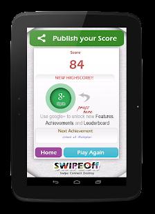 Swipe Off : a moving Dots Game- screenshot thumbnail