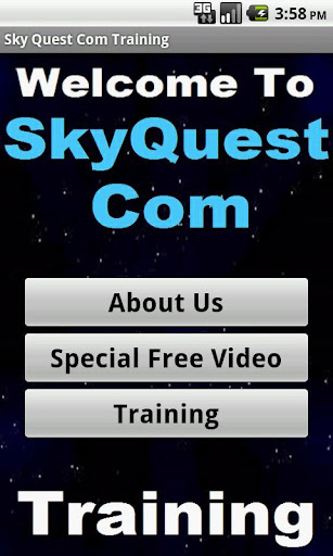 SkyQuest Training