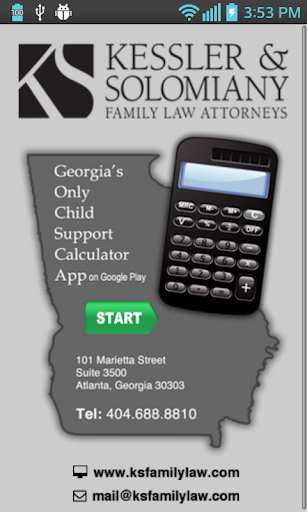 GA Child Support Calculator
