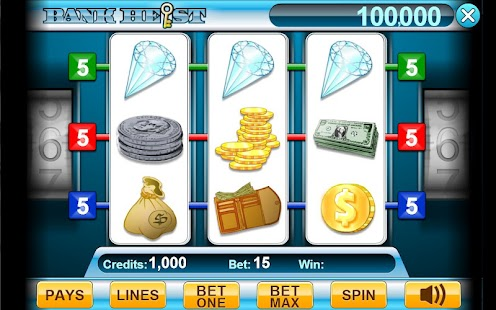 Bank Heist 3-Reel Slots - screenshot thumbnail