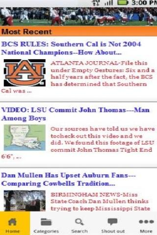 SEC Football Breaking News - screenshot