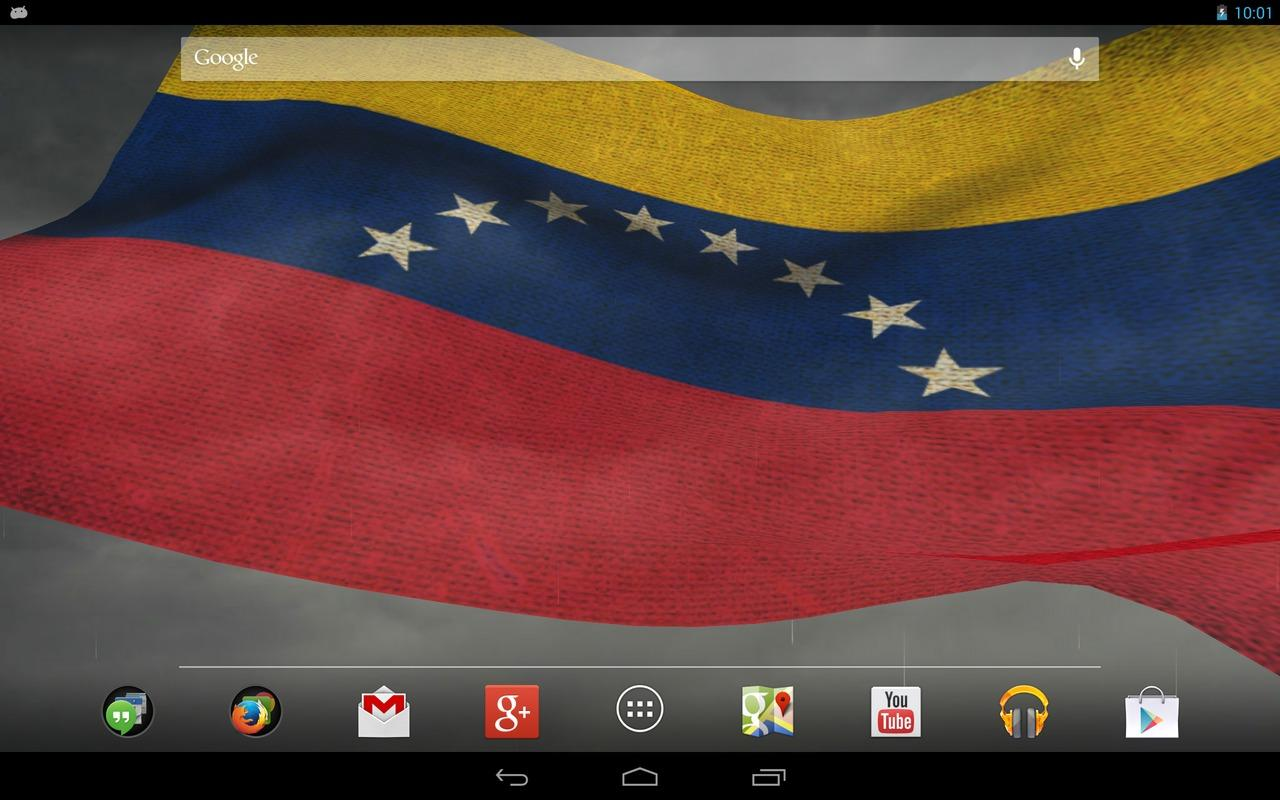 3D Venezuela Flag LWP + - screenshot