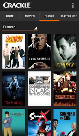 Crackle - Movies & TV 4.4.4.6 screenshot 82009