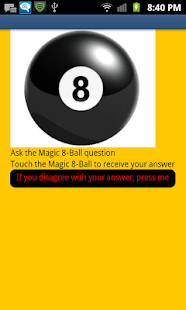 Magic8Ball - screenshot thumbnail