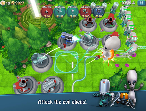 Tower Madness 2: 3D Defense 2.1.1 screenshots 1