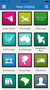 Apps Catalog - App of the Apps- screenshot thumbnail