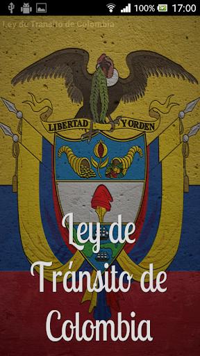 Ley de Tránsito de Colombia