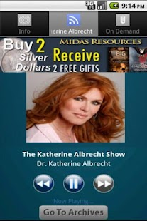 The Katherine Albrecht Show - screenshot thumbnail