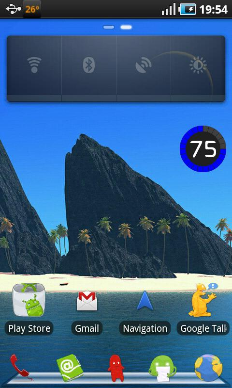 Tiki Theme Go Launcher EX - screenshot