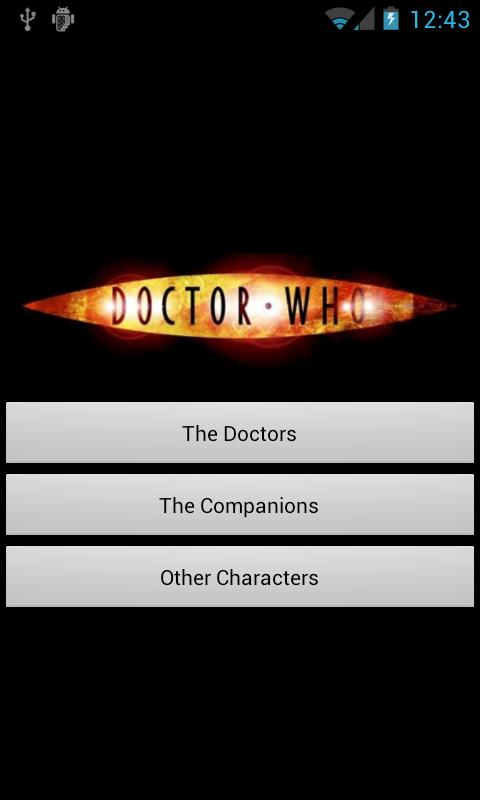 Doctor Who Guide - screenshot