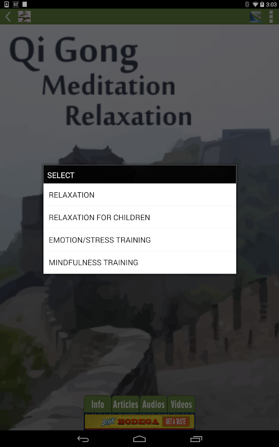 Qi Gong Meditation Relaxation- screenshot