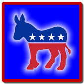 Democrat Clock Widget